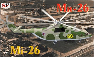 South Front 1/72 Mi26T Halo Soviet Helicopter Kit