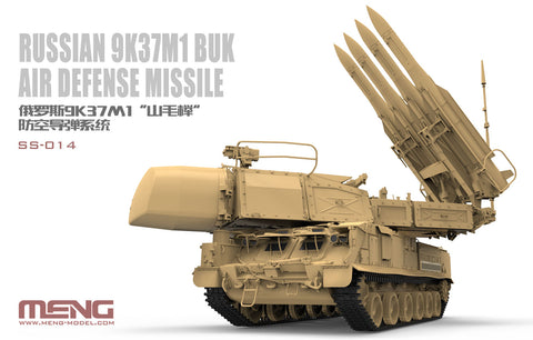 Meng Military Models 1/35 Russian 9K37M1 BUK Air Defense Missile System (New Tool) Kit