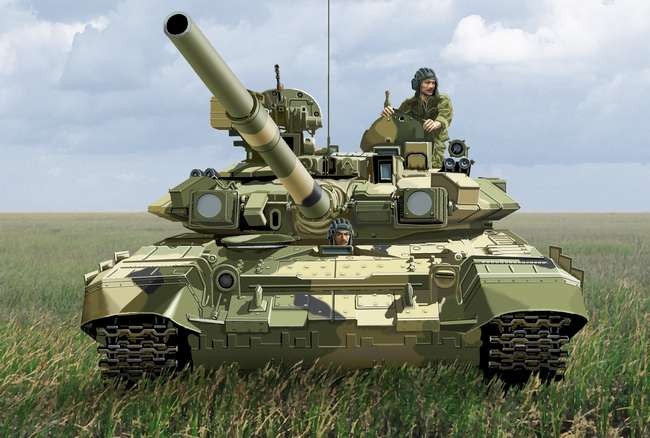 Ace Military Models 1/72 Russian T90 Modern MBT Kit