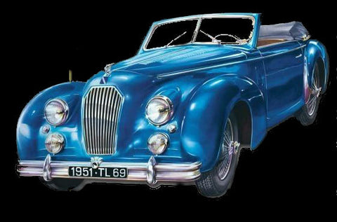 Heller Model Cars 1/24 1950 Talbot Lago Record Convertible Car 60th Anniversary Ltd Re-Edition Kit