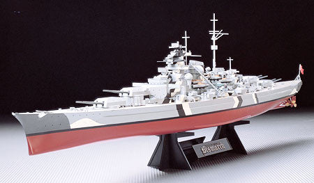 Tamiya Model Ships 1/350 German Bismarck Battleship Kit