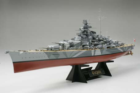 Tamiya Model Ships 1/350 German Tirpitz Battleship Kit