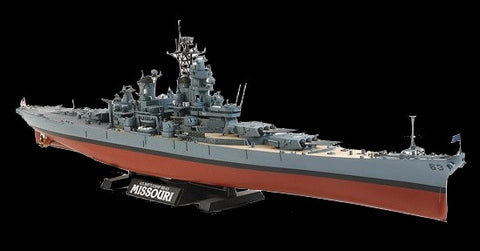 Tamiya Model Ships 1/350 USS Missouri BB63 Battleship 1991 Kit