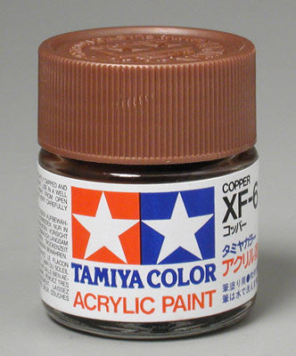 Tamiya Acrylic XF6 Copper 23 ml Bottle