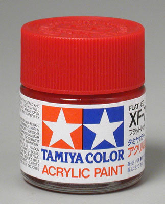 Tamiya Acrylic XF7 Flat Red 23 ml Bottle