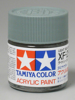 Tamiya Acrylic XF25 Light Sea Gray 23 ml Bottle