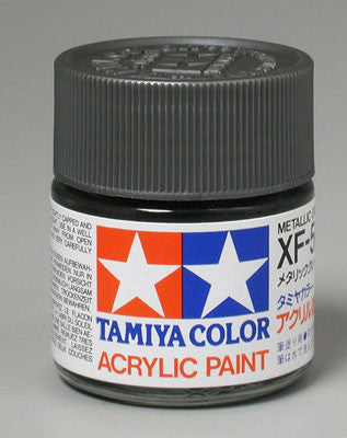 Tamiya Acrylic XF56 Metallic Gray 23 ml Bottle