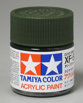 Tamiya Acrylic XF58 Olive Green 23 ml Bottle