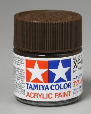 Tamiya Acrylic XF64 Red Brown 23 ml Bottle