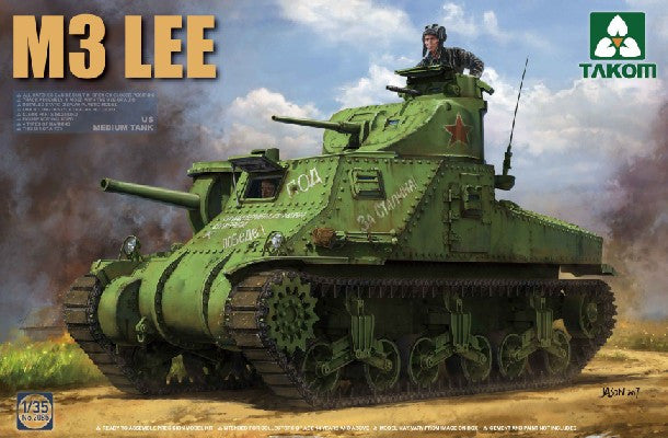 Takom 1/35 US M3 Lee Early Medium Tank