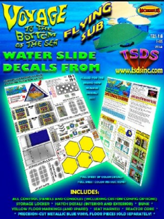 TSDS Decals 1/32 Flying Sub Decal Set for MOE