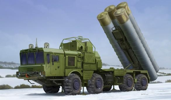 Trumpeter Military 1/35 Russian 40N6 of 51P6A TEL S400 Surface-to-Air Missile System (New Tool) Kit