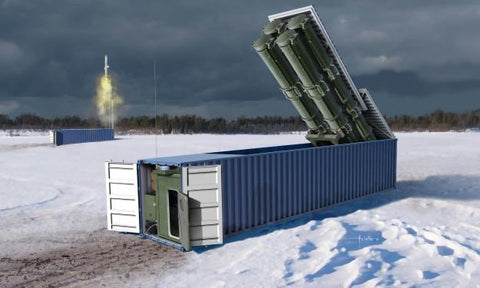 Trumpeter Military 1/35 3M54 Club-K 40ft Variant Container Missile System (New Tool) Kit