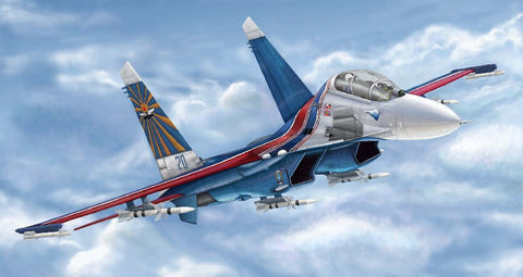 Trumpeter Aircraft 1/144 Russian SU27UB Flanker C Fighter Kit