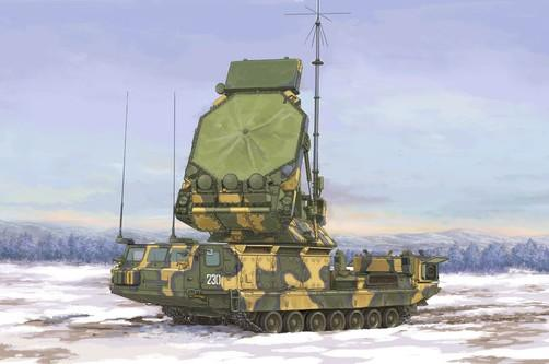 Trumpeter Military 1/35 Russian S300V 9S32 Tracking Radar Surface-to-Air (SAM) Missile System (New Variant) Kit