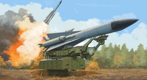 Trumpeter Military 1/35 Russian 5V28 Missile on 5P72 Launcher SAM5 Gammon Missile System Kit