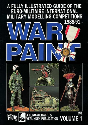 Verlinden Productions War Paint Euromilitaire Book