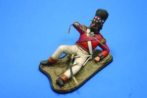 Verlinden Productions 120mm Cameron Highlander Figure w/Base