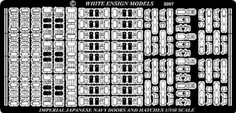 White Ensign Details 1/350 IJN Doors & Hatches Detail Set