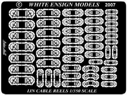 White Ensign Details 1/350 IJN Cable Reels Detail Set