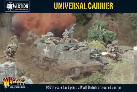 Warlord Games 28mm Bolt Action: WWII British Armored Universal Carrier Plastic Kit