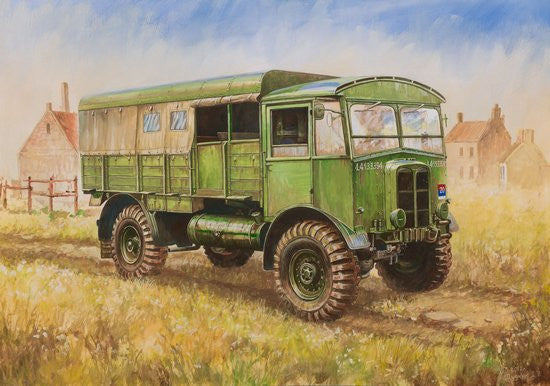 Zvezda Military 1/100 WWII British Matador Truck Snap Kit