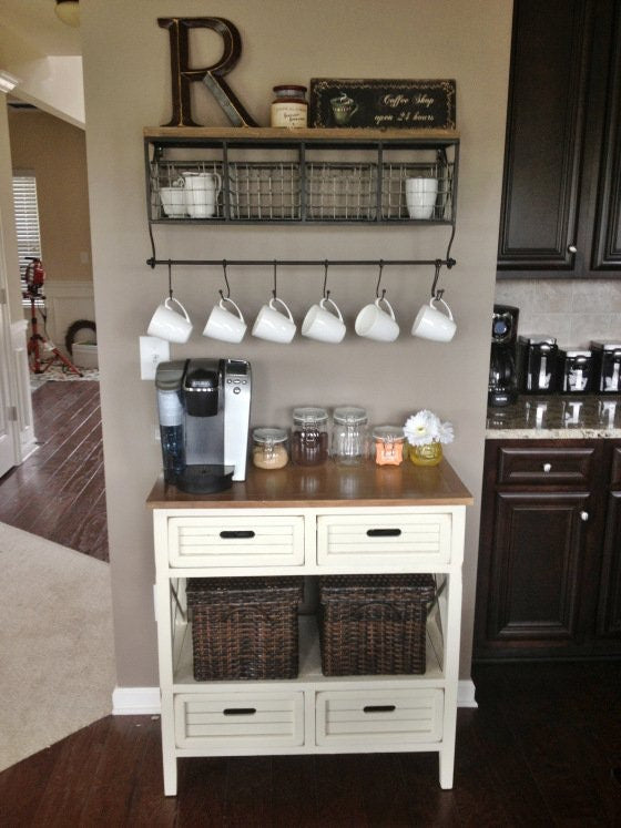 coffee bench - upcycled dressers