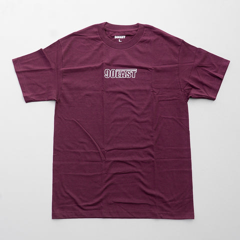 90 EAST / WIRE LOGO T-SHIRT