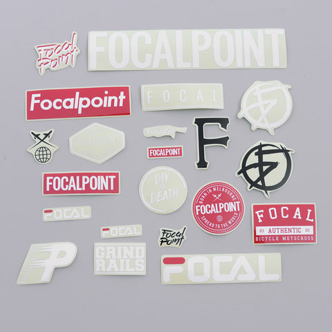 Focalpoint Sticker Pack