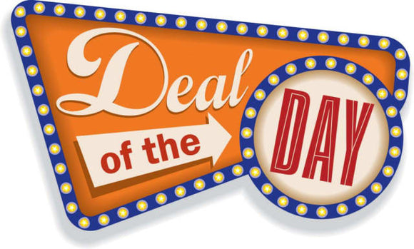 DEAL of the Day- 25% OFF