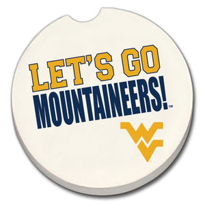 Car Coaster West Virginia Fan