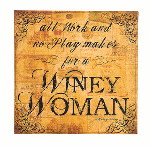 Winey Woman Canvas