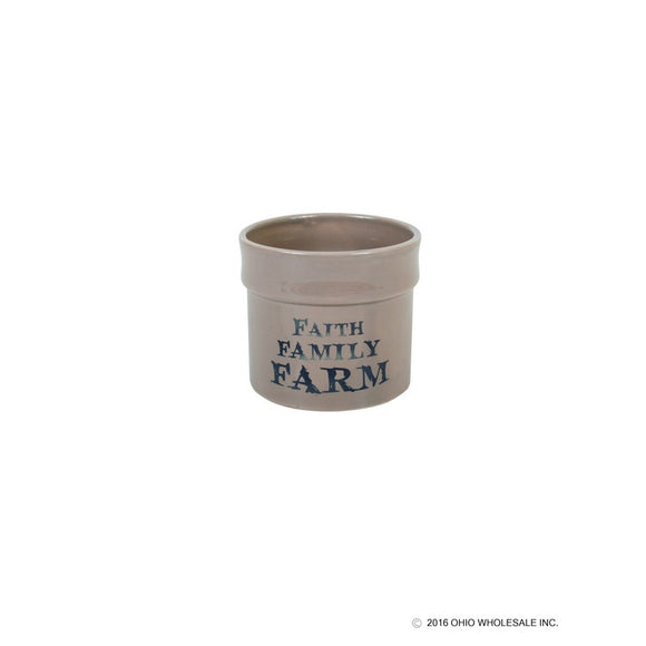 Faith Family Farm Butter Crock