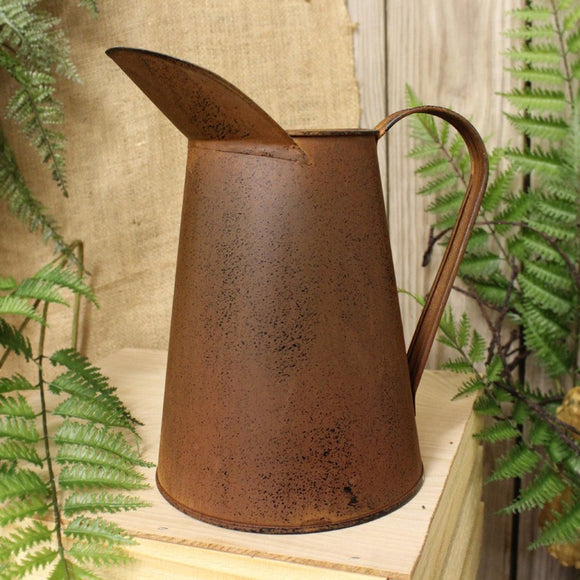 Vintage Look  - Medium Rusty Coffee Pot 9x10