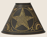 "2"" X 6"" X 4"" STAR LAMPSHADE"