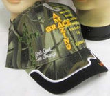 AMAZING GRACE EMBROIDERED HAT CAP( CHOICE OF CAMO OR BLACK)