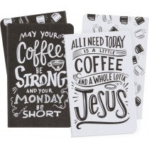 Small Notebook Set- Coffee