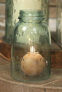 Mason Jar Chimney - Choice of Three Sizes - Fort Valley Bob's Simple Man Store