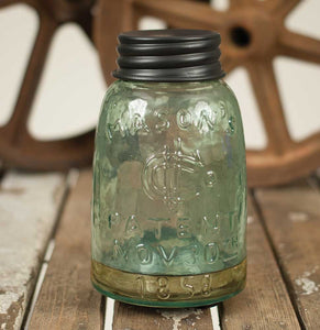 Mason Jar Fruit Fly Trap