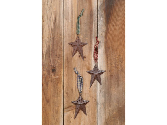 Star Tin  Set of 3 with assorted ties