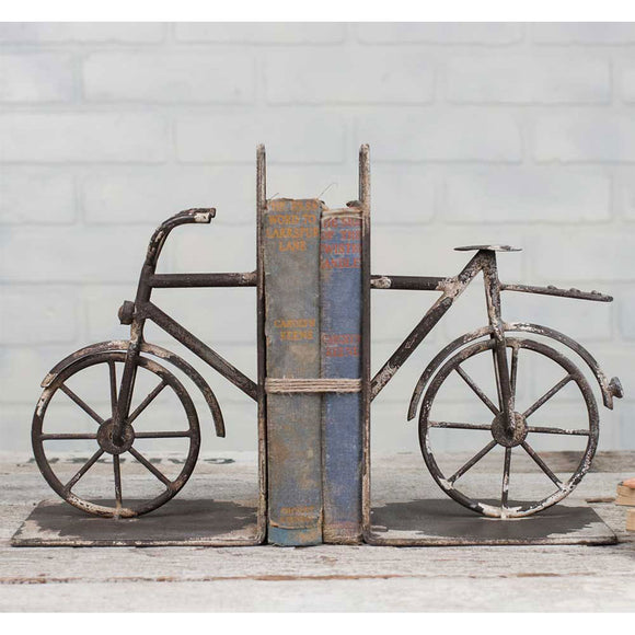 Bicycle Bookends