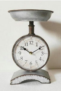 Pap's Scale Clock