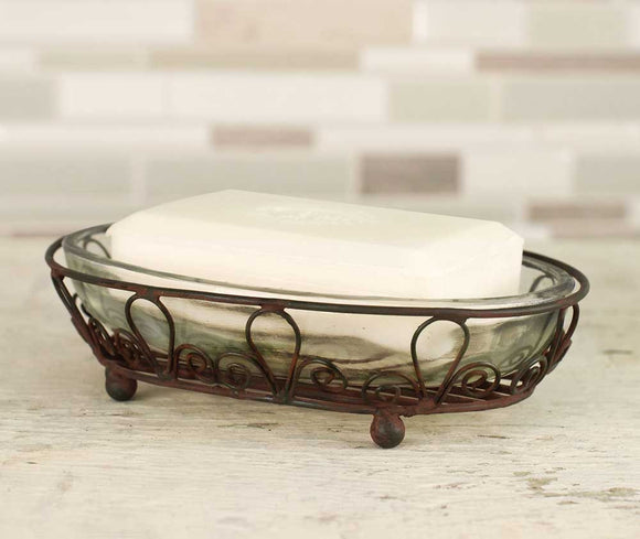 Looped Oval Soap Dish