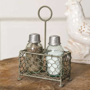 Chicken Coop Salt and Pepper Shakers