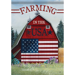Garden Flag -  USA Barn