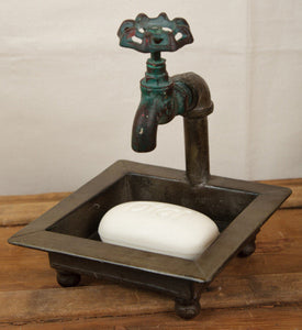 Bathroom -Faucet Soap Dish - Fort Valley Bob's Simple Man Store