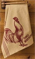 Good Morning Printed Dish Towel by Park Designs - Fort Valley Bob's Simple Man Store