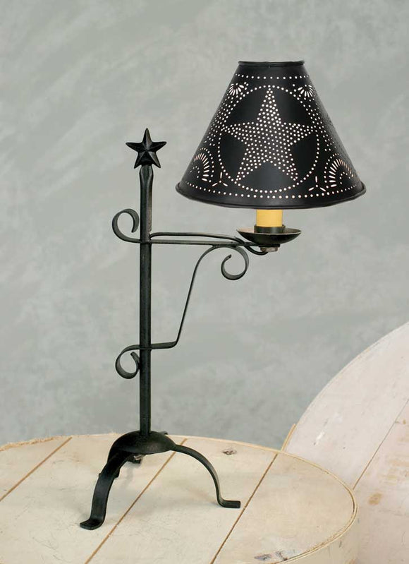 Star Desk Lamp - Black
