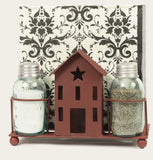 Saltbox House Salt and Pepper and Napkin Caddy