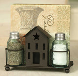 Saltbox House Salt and Pepper and Napkin Caddy - Fort Valley Bob's Simple Man Store